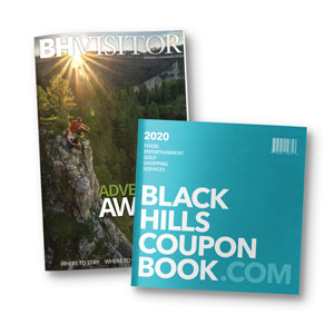Black Hills Coupon Book - Black Hills Visitor Magazine Combo